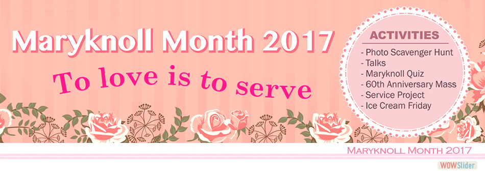 2017_Maryknoll Month