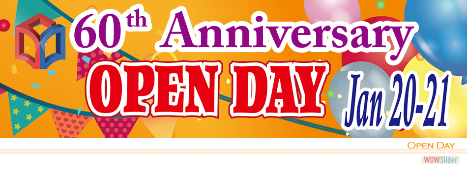 60th Anniversary Open Day