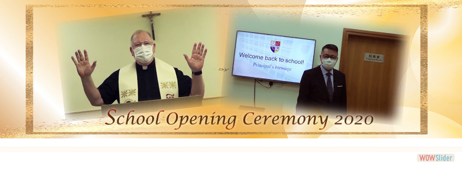 School Opening Ceremony